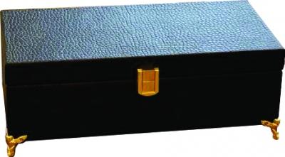 جعبه پذیرایی چرمی تبلیغاتی سایز 2