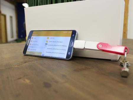 اتصال فلش مموری به موبایل
